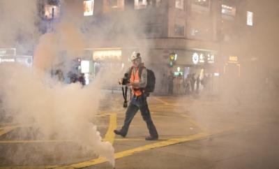 Kampen for demokrati og ytringsfrihet i Hongkong