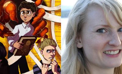 Forfattermøte med Monika Steinholm
